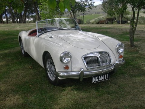 Colin Brown's 1962 MGA Roadster