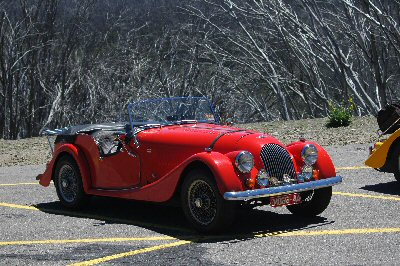 Phil Cook's 1974<br>Morgan 4/4