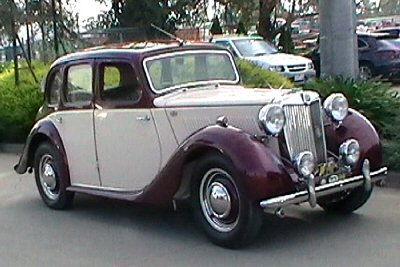 Christopher Constantine's 1948<br>MG YA Type