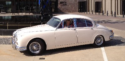 Rex Hall's 1962<br>Jaguar Mark II 3.8