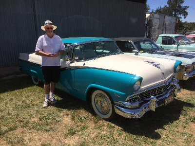 Peter Hibbert's 1956<br>Ford Fairlane Hardtop Coupe