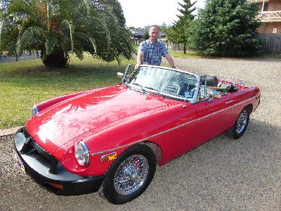 John Broadbent's 1977<br>MG B Roadster