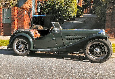 Richard Hogg's 1947<br>MG TC
