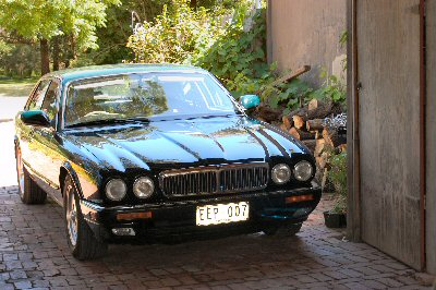 Richard Hogg's 1995<br>Jaguar XJ6 X300